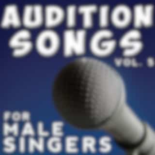 Audition Songs - Male, Vol. 5
