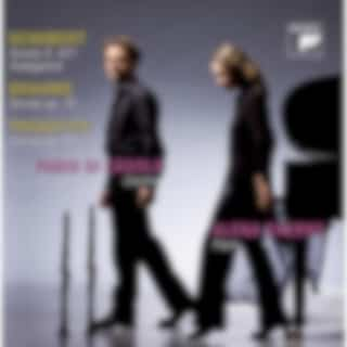 Brahms/Prokofiev/Schubert: Works For Clarinet And Piano