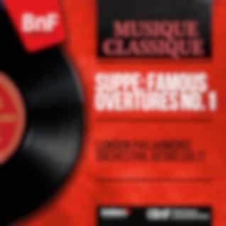 Suppé: Famous Overtures No. 1 (Mono Version)