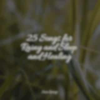 25 Songs for Rainy and Sleep and Healing