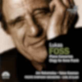 Lukas Foss: Piano Concertos, Elegy for Anne Frank (Jon Nakamatsu, Yakov Kasman, Pacific Symphony Orchestra, Carl St. Clair)