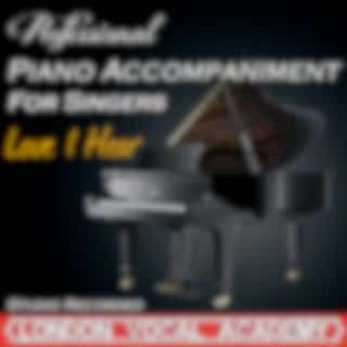 Love I Hear ('Forum' Piano Accompaniment) [Professional Karaoke Backing Track]