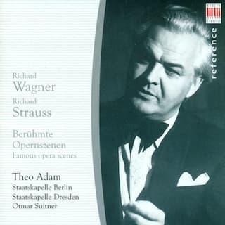 Opera Arias (Bass): Adam, Theo - WAGNER, R. / STRAUSS, R.