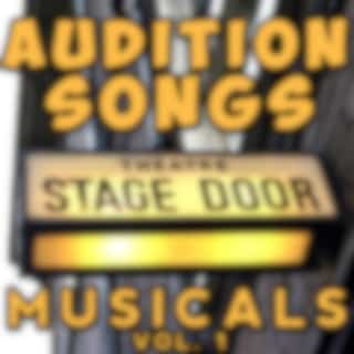 Audition Songs - Musicals, Vol. 1