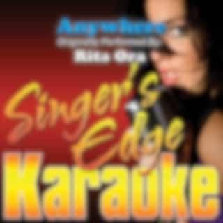 Anywhere (Originally Performed by Rita Ora) [Karaoke Version]