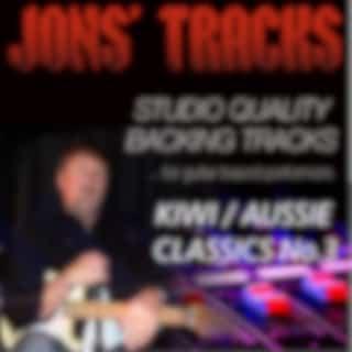 Jon's Tracks: Kiwi / Aussie Classics, Vol. 3 (Studio Quality Backing Tracks for Guitar Based Performers) (Minus Guitar Instrumental Backing Track)