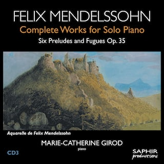 Six Preludes and Fugues Op.35