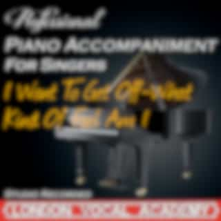 I Want to Get Off-What Kind of Fool Am I ('stop the World' Piano Accompaniment) [Professional Karaoke Backing Track]