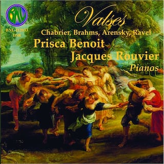 Chabrier & Brahms: Valses