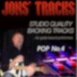 Pop, Vol. 4 - Studio Quality Backing Tracks (For Guitar Based Performers) (Minus Guitar)