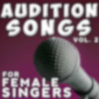 Audition Songs - Female, Vol. 2