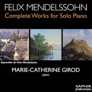 Mendelssohn: Complete Works for Solo Piano, Vol. 2