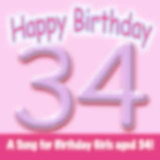Happy Birthday (Girl Age 34)