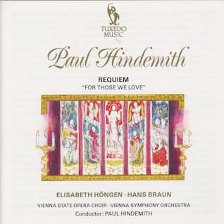 """Hindemith: Requiem """"For Those We Love"""""""