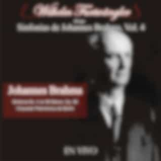 Wilhelm Furtwängler Dirige Sinfonías de Johannes Brahms, Vol. 4 (En Vivo)