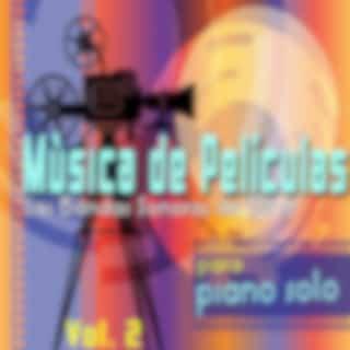 Mùsica de Películas para Piano Solo, Vol. 2 (Las Bandas Sonoras de Cine)