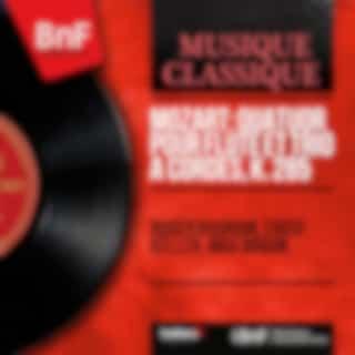 Mozart: Quatuor pour flûte et trio à cordes, K. 285 (Mono Version)