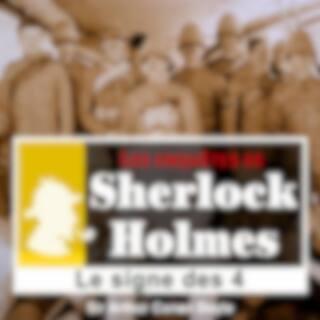 Le signe des quatre, les enquêtes de Sherlock Holmes (Les enquêtes de Sherlock Holmes)