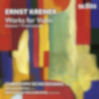 Krenek: Works for Violin