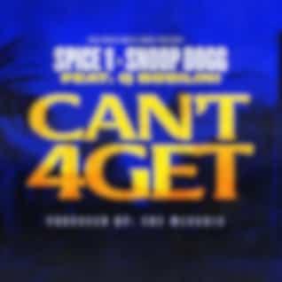 Can't 4get (Radio Edit) [feat. Q Bosilini]