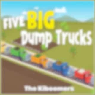 Five Big Dump Trucks