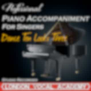 Dance Ten Looks Three ('A Chorus Line' Piano Accompaniment) [Professional Karaoke Backing Track]