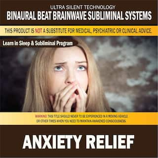 Anxiety Relief: Combination of Subliminal & Learning While Sleeping Program (Positive Affirmations, Isochronic Tones & Binaural Beats)