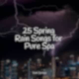 25 Spring Rain Songs for Pure Spa