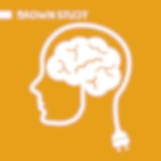 Brown Study - Sounds of Ocean and Gentle Relaxing Music for Studying, Brain Development, Concentration Booster