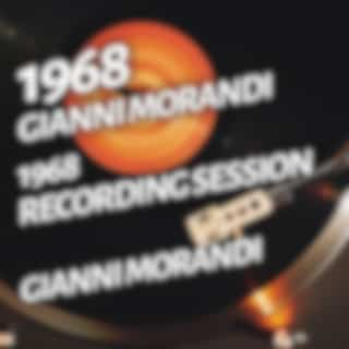 Gianni Morandi - 1968 Recording Session