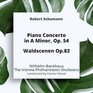 Schumann: Piano Concerto in A Minor Op. 54 / Waldscenen Op.82