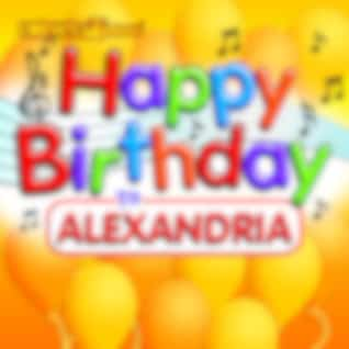 Happy Birthday to Alexandria