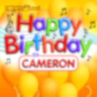Happy Birthday to Cameron