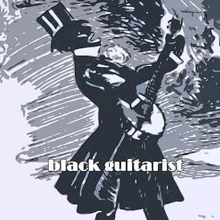 Black Guitarist