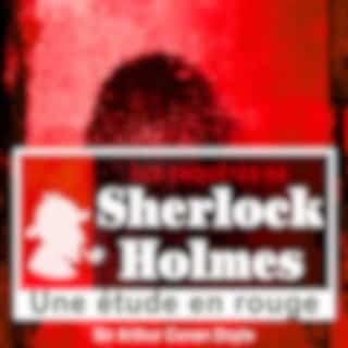 Une étude en rouge, les enquêtes de Sherlock Holmes (Les enquêtes de Sherlock Holmes)