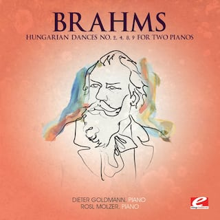 Brahms: Hungarian Dance No. 2, 4, 8, 9 for Two Pianos (Digitally Remastered)