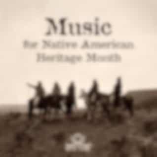 Music for Native American Heritage Month: Native American Flute and Drums, Sounds of Forest