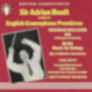 Sir Adrian Boult Conducts English Gramophone Premieres