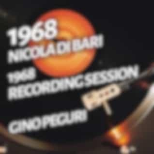 Nicola Di Bari - 1968 Recording Session