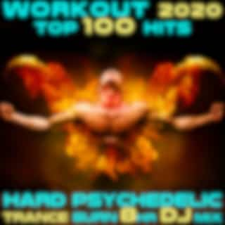 Workout 2020 Top 100 Hits Hard Psychedelic Trance Fitness Burn 8 Hr DJ Mix