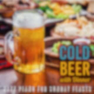 Cold Beer with Dinner - Jazz Piano for Sunday Feasts