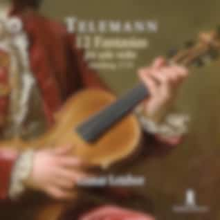 Telemann: 12 Fantasias for Solo Violin, TWV 40:14-25