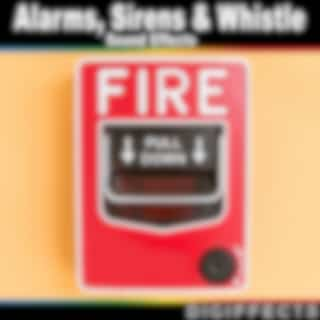 Alarms, Sirens, And Whistle Sound Effects