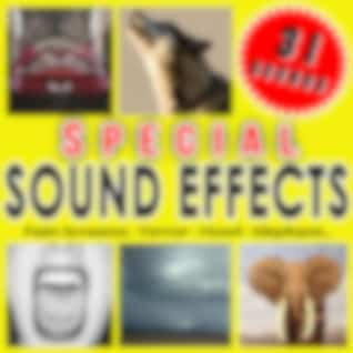 Pain Screams, Terror, Howl, Elephant. Special Sound Effects.
