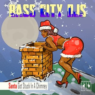 Santa Got Stuck in a Chimney