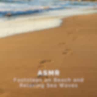 ASMR Footsteps on Beach and Relaxing Sea Waves