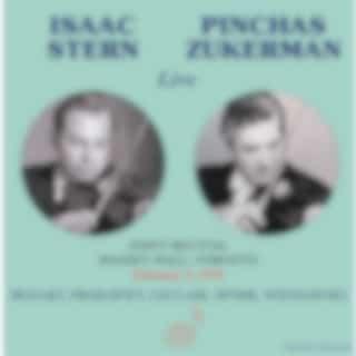 Isaac Stern & Pinchas Zukerman (Live)