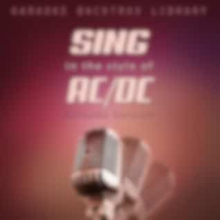 Sing in the Style of AC/DC (Karaoke Version)