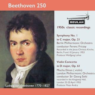 Beethoven 250 Symphony No. 1, Violin Concerto