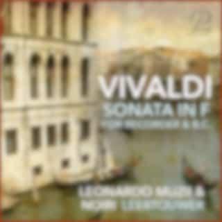 Antonio Vivaldi: Sonata in F Major for Recorder and Basso Continuo